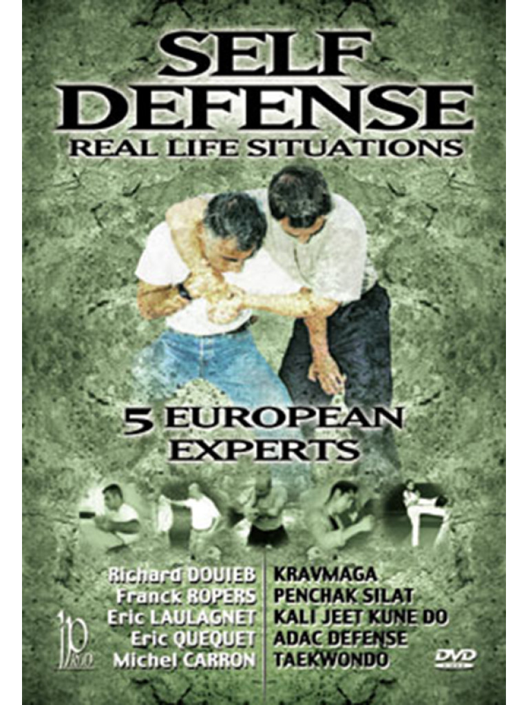 DVD.094 - SELF DEFENCE IN REAL LIFE SITUATIONS