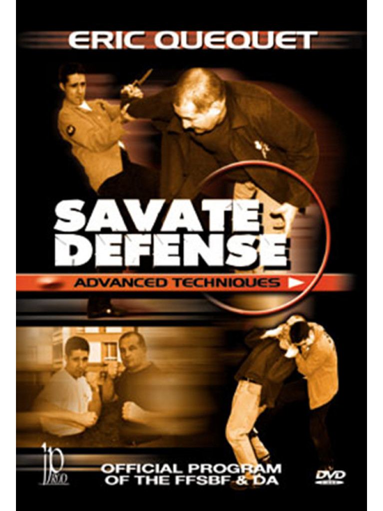 DVD.118 - SAVATE DEFENCE ADVANCED TECHNIQUES