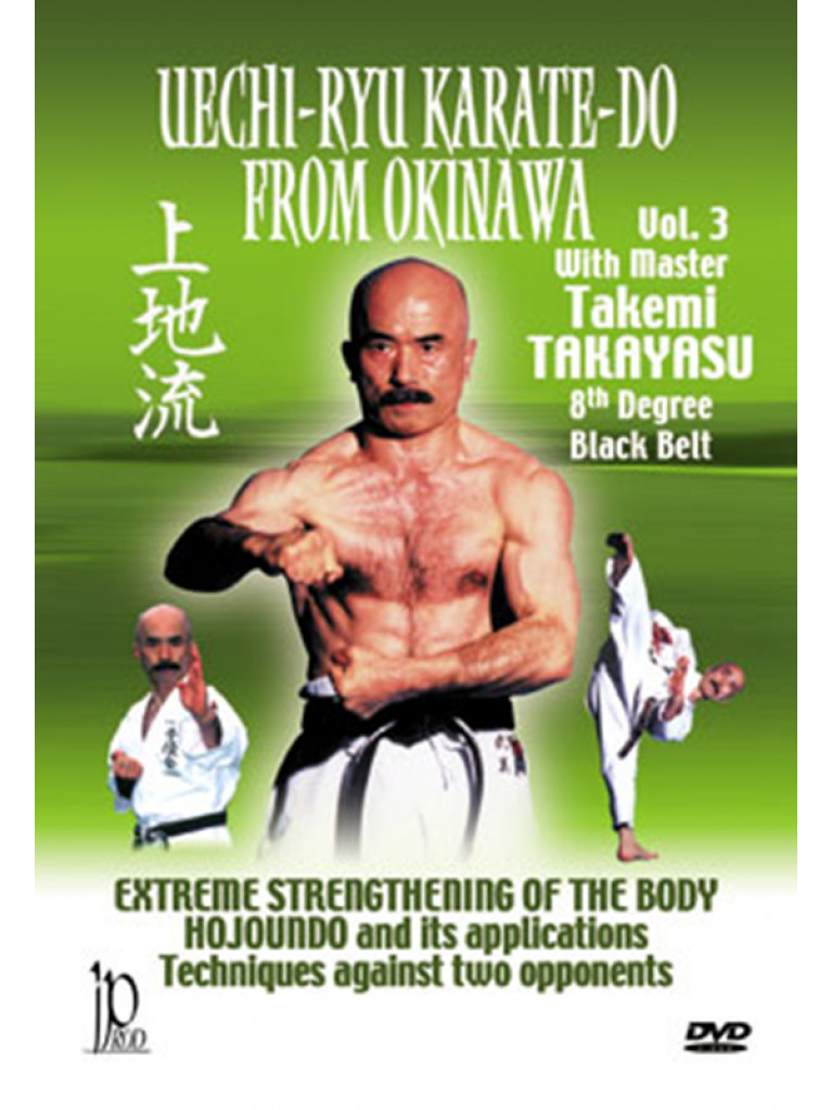 DVD.119 - UECHI-RYU KARATE DO FROM OKINAWA VOL 3