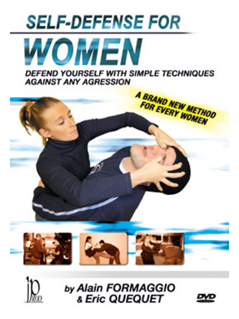 DVD.120 - SELF-DEFENSE FOR WOMEN
