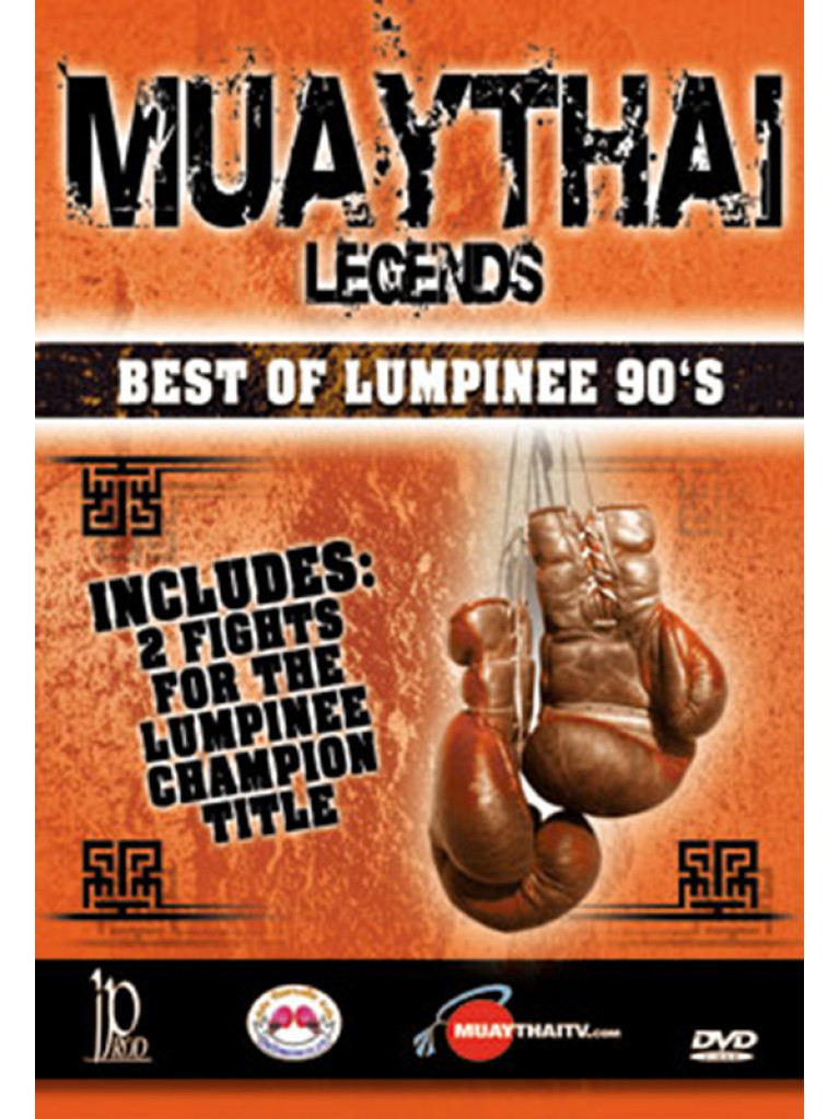 DVD.122 - MUAYTHAI LEGENDS BEST OF LUMPINEE 90'S