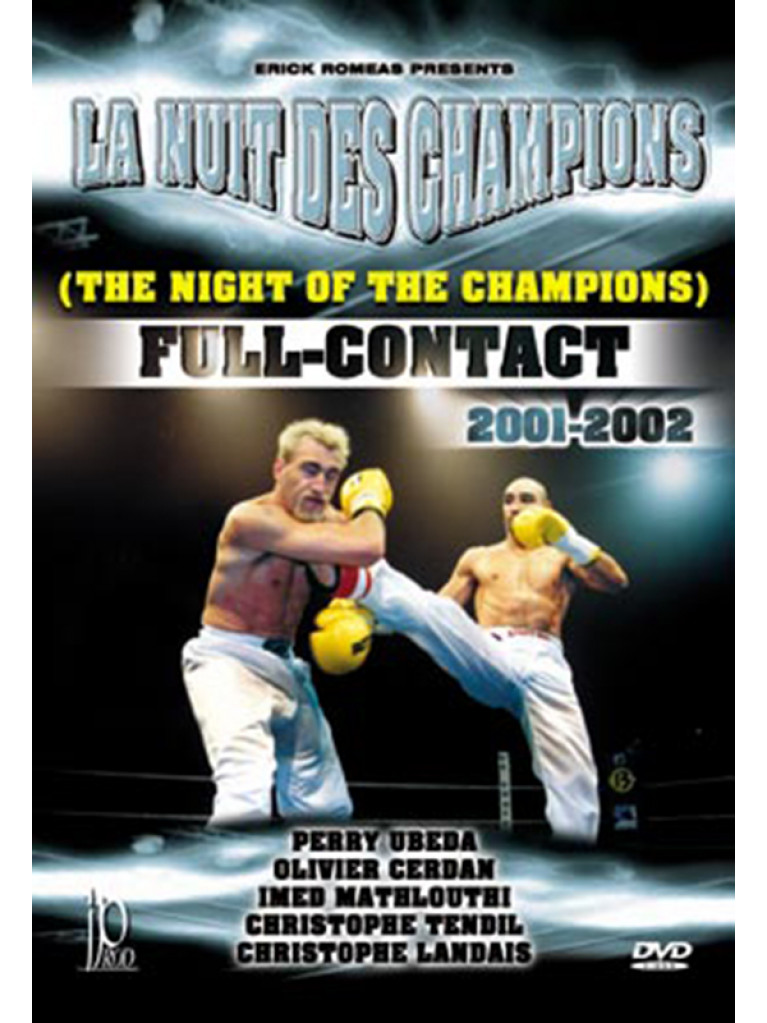 DVD.123 - FULL CONTACT THE NIGHT OF THE CHAMPIONS 2001-2002