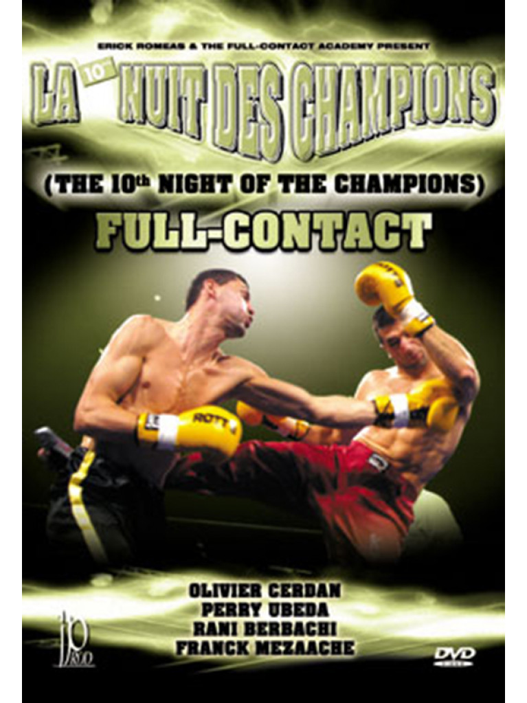DVD.124 - FULL CONTACT THE 10TH NIGHT OF THE CHAMPIONS