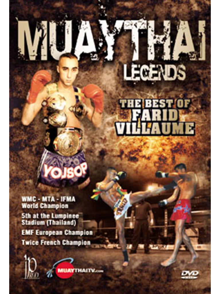 DVD.131 - MUAYTHAI LEGENDS The Best of FARID VILLAUME