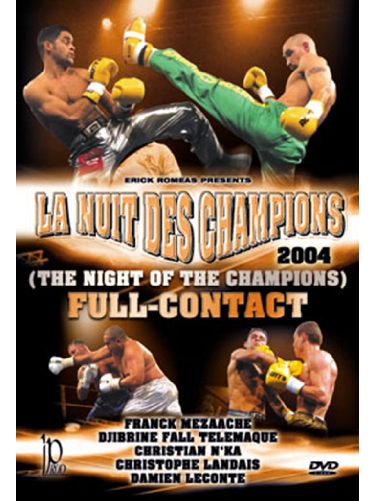 DVD.136 - FULL-CONTACT THE NIGHT OF THE CHAMPIONS 2004