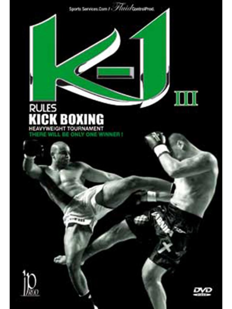 DVD.167 - K1 Rules KICKBOXING Heavyweigth Tournament Vol.3