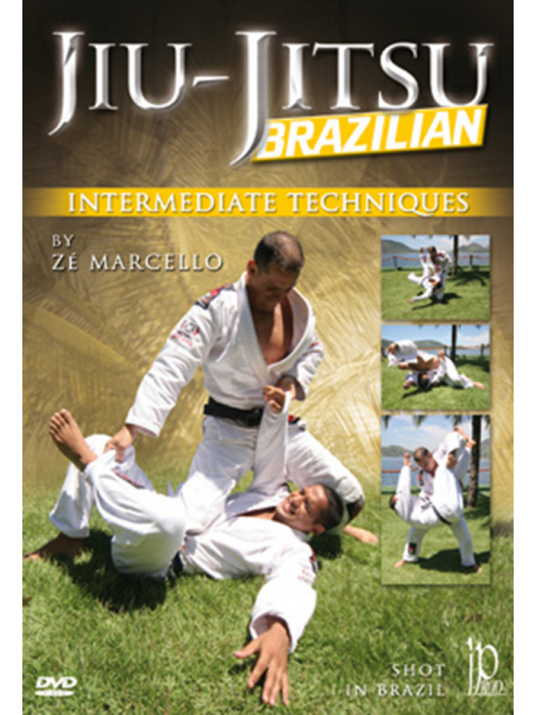 DVD.171 - BRAZILIAN JIU-JITSU Intermediate Techniques