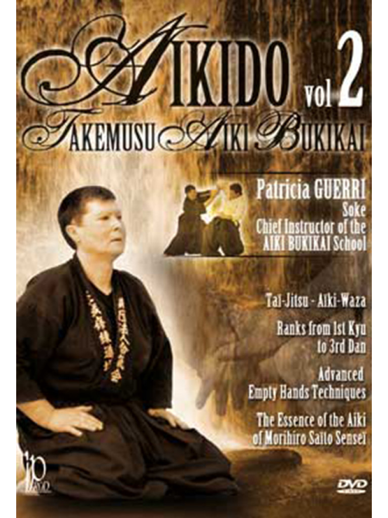 DVD.175 - AIKIDO-AKEMUSU-AIKI BUKIKAI VOL. 2
