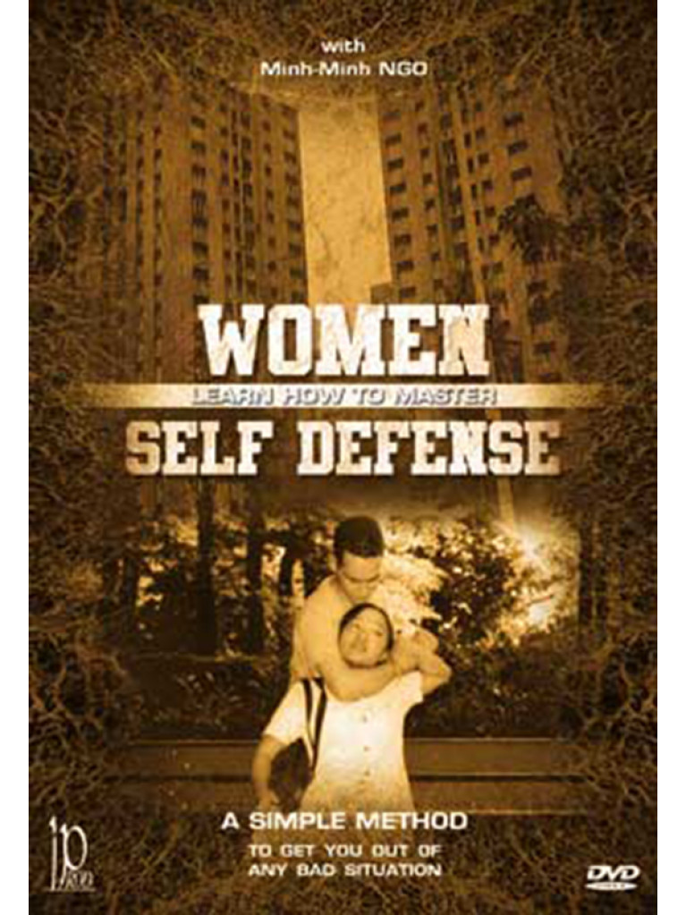DVD.179 - WOMEN, LEARN HOW TO MASTER SELF DEFENSE