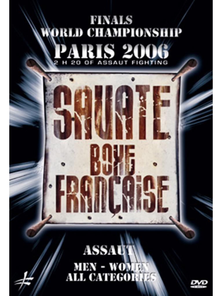 DVD.196 - WORLD CHAMPIONSHIP OF SAVATE ASSAUT 2006