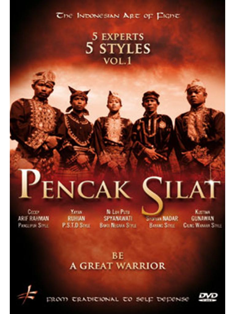 DVD.212 - PENCAK SILAT 5 MASTERS - 5 STYLES VOL.1