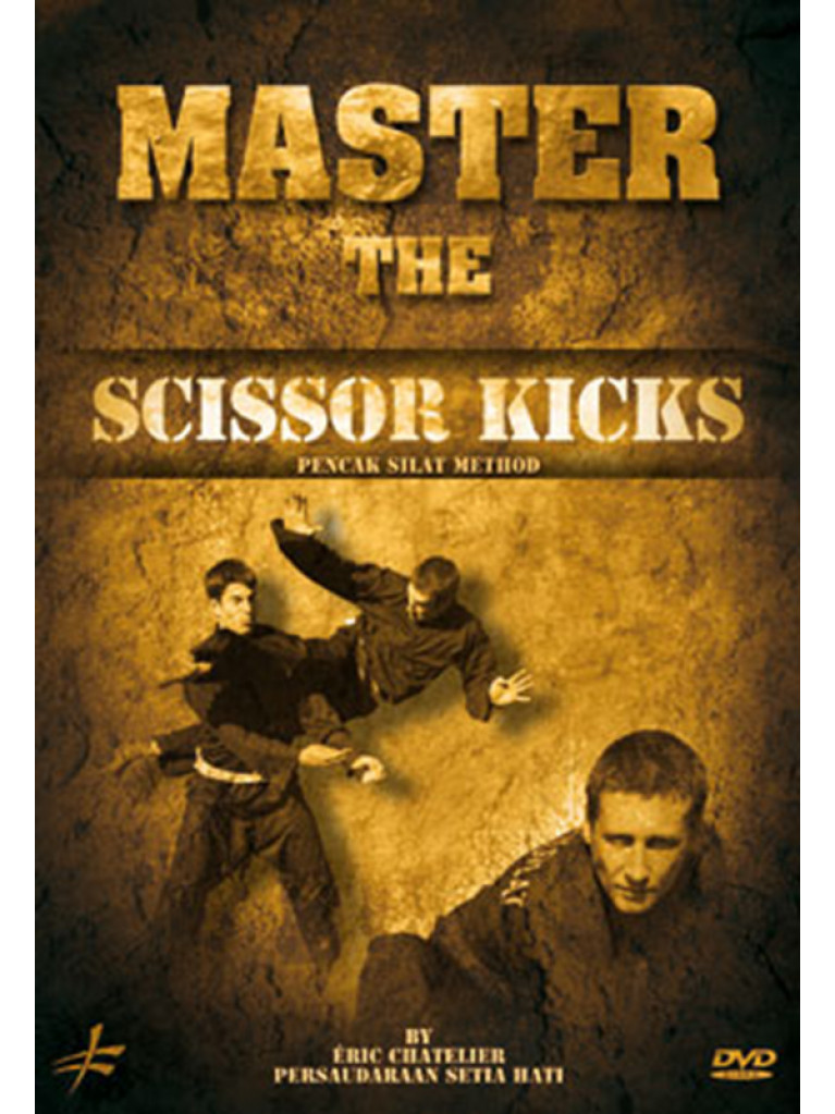 DVD.216 - MASTER THE SCISSOR KICKS