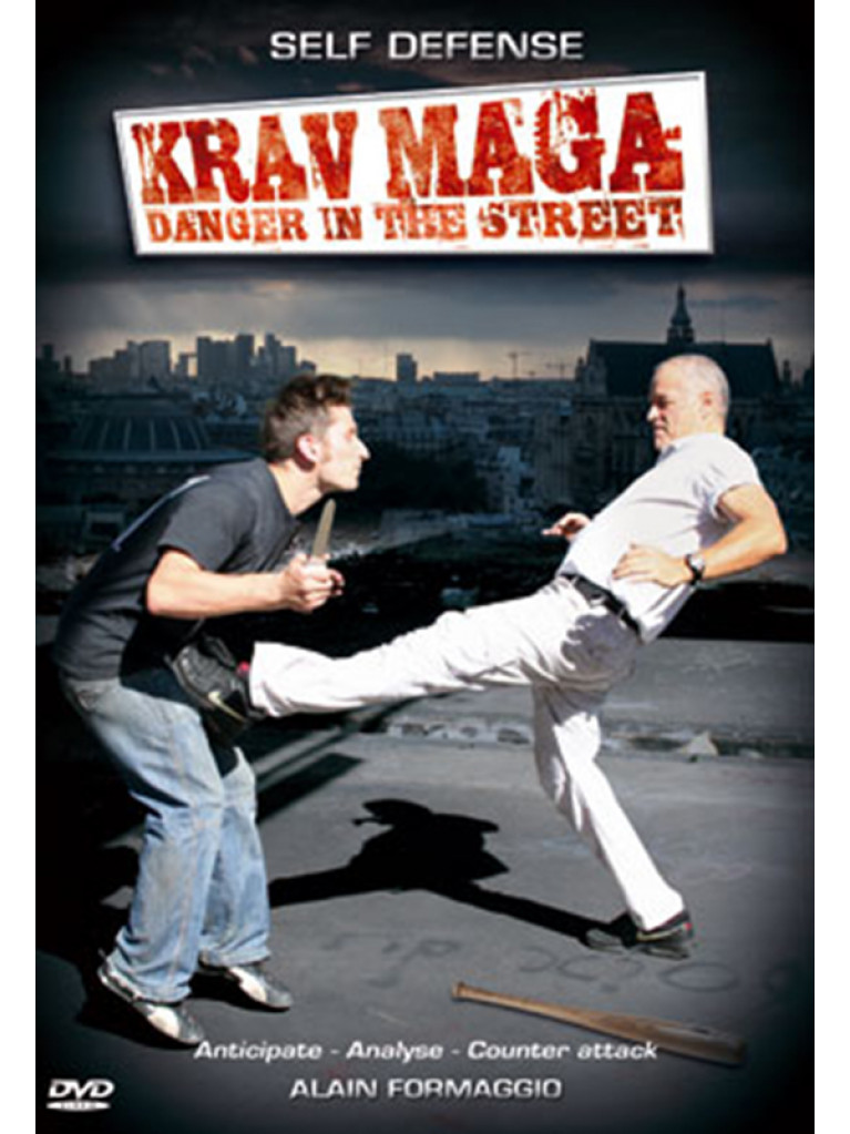 DVD.248 - KRAV MAGA DANGER IN THE STREET