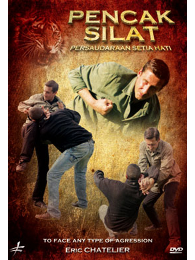 DVD.250 - PENCAK SILAT TO FACE ANY TYPE OF AGRESSION