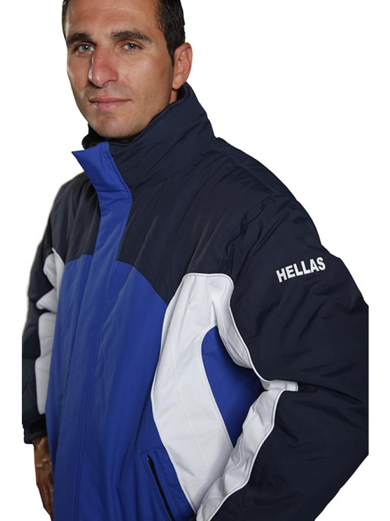 Jacket Micro Tex Hellas Blue / Sky Blue / White