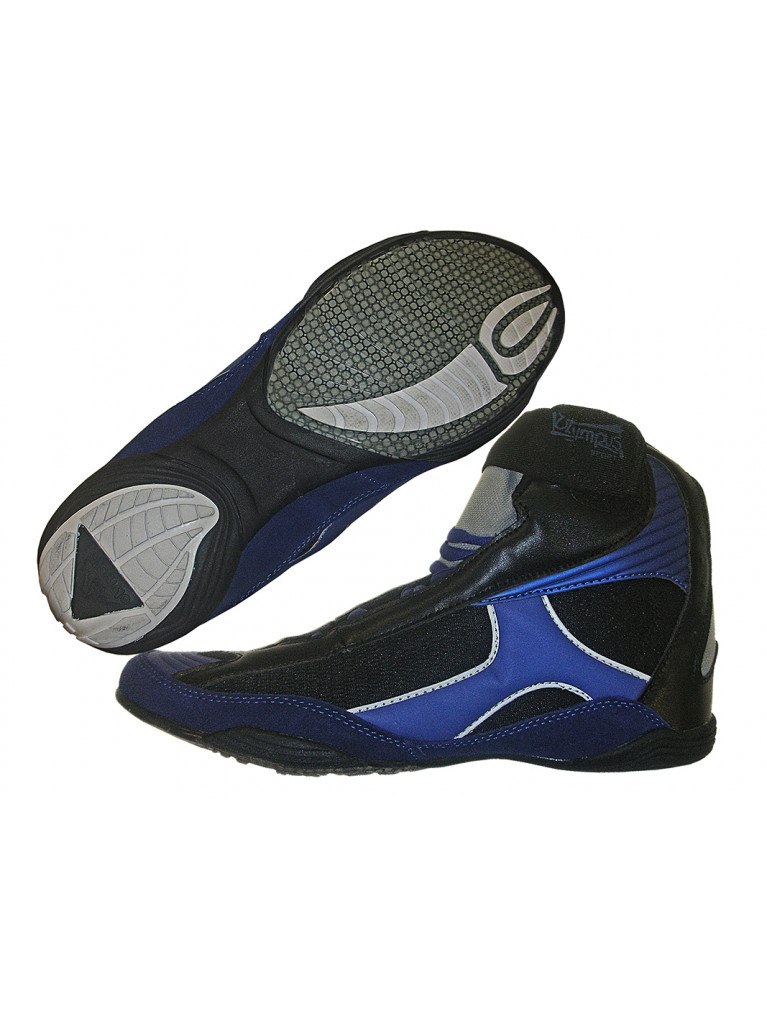 Wrestling Shoes Olympus ACHILLES Blue