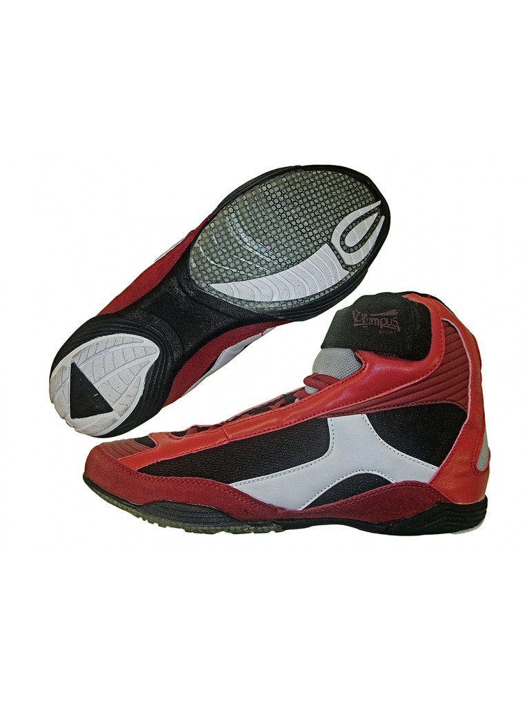 Wrestling Shoes Olympus ACHILLES Red
