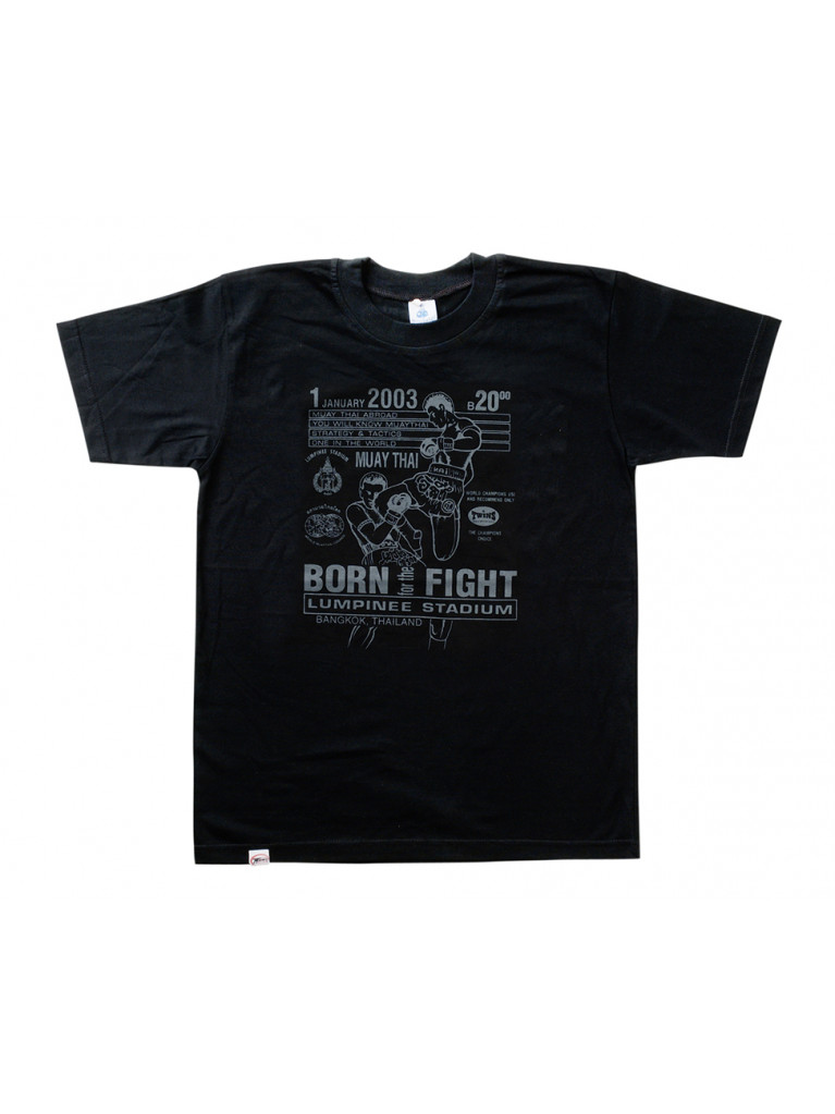 T-shirt Twins - BORN TO FIGHT