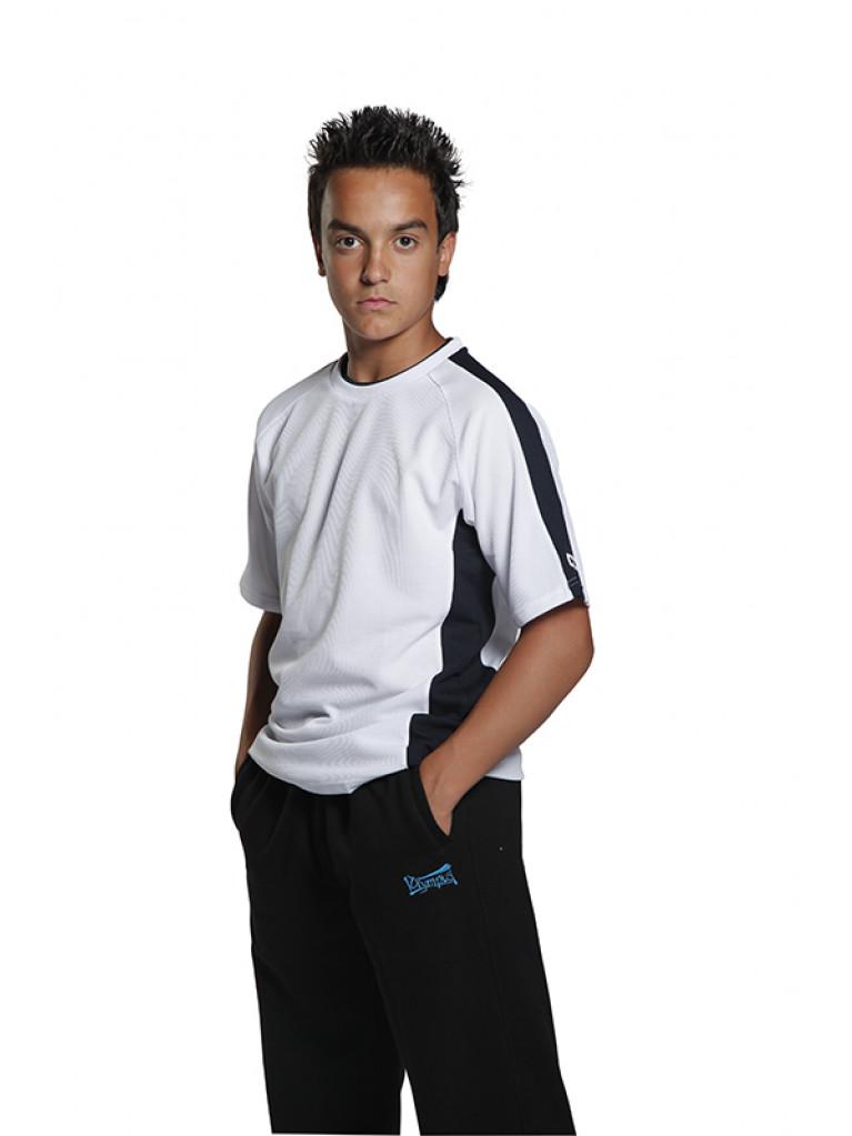 T-shirt Olympus REFLECT PU White/Black Stripes