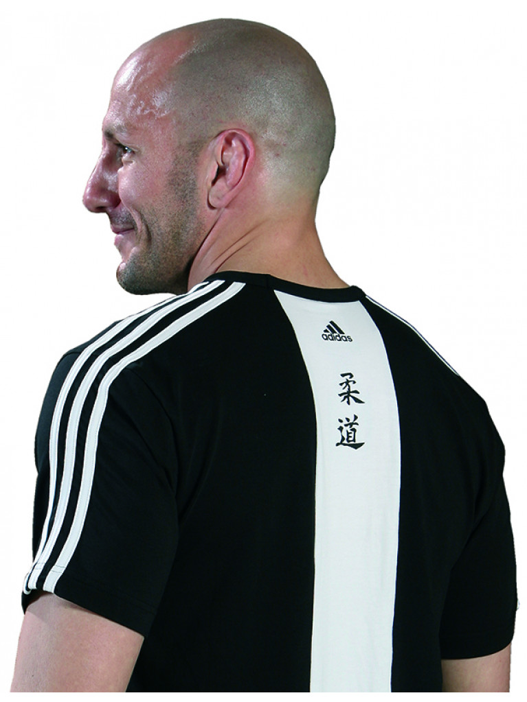 T-shirt Adidas - JUDO Cotton Black & White