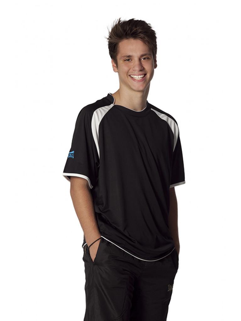 T-shirt Olympus WINNER Black/White