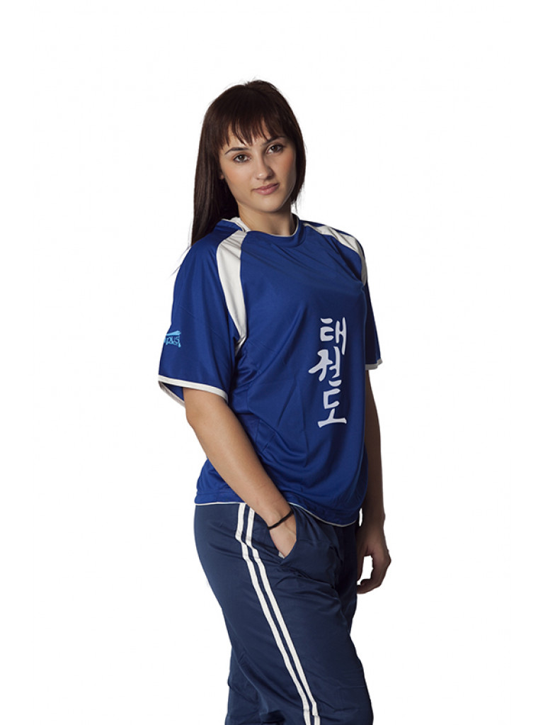 T-shirt Olympus WINNER Blue/White