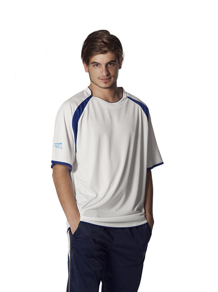 T-shirt Olympus WINNER White/Blue