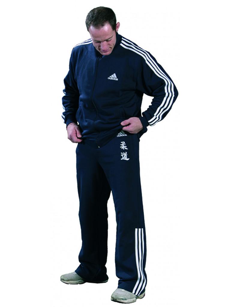 Tracksuit Adidas - Navy Blue & White JUDO