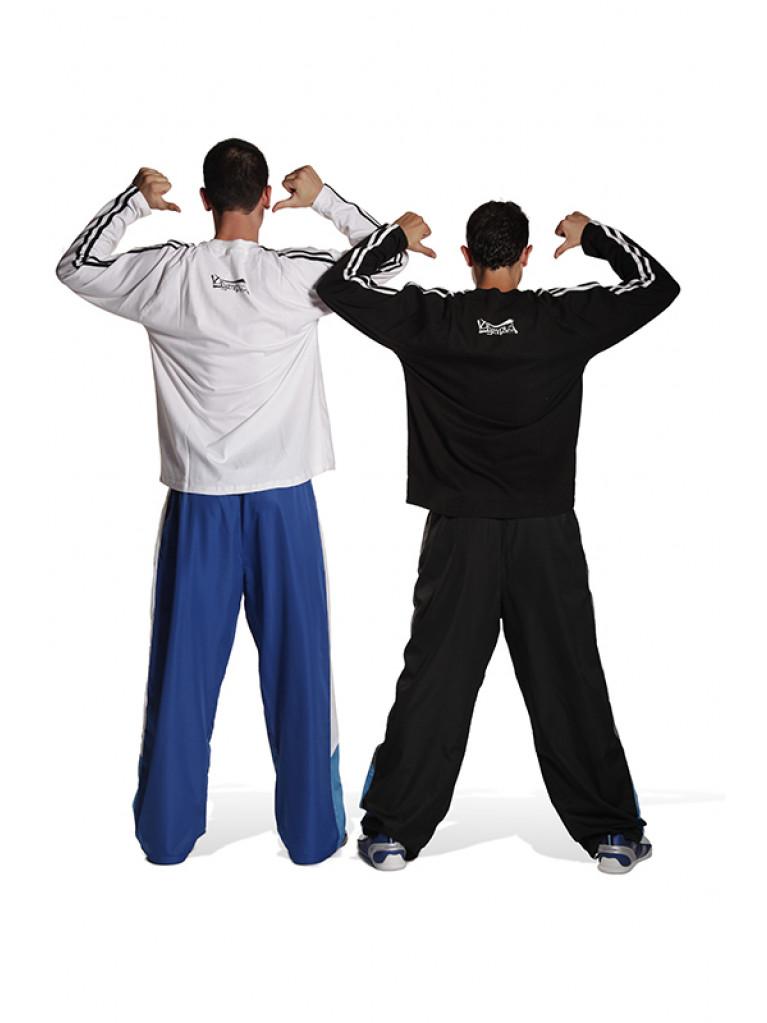T-shirt Olympus Full Sleeves Black 2 Stripes