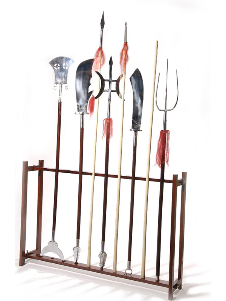 Weapon Stand - Chinese Weapons 10 Vertical Spots