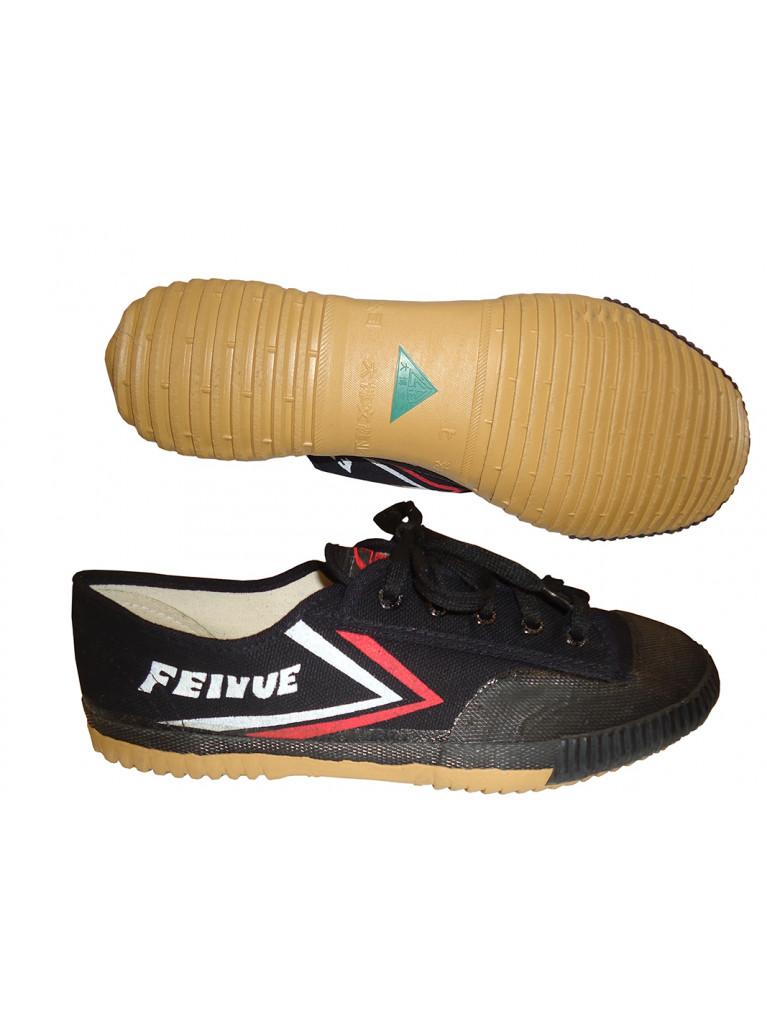 Wu-Shu Shoes Canvas FEIYUE Black