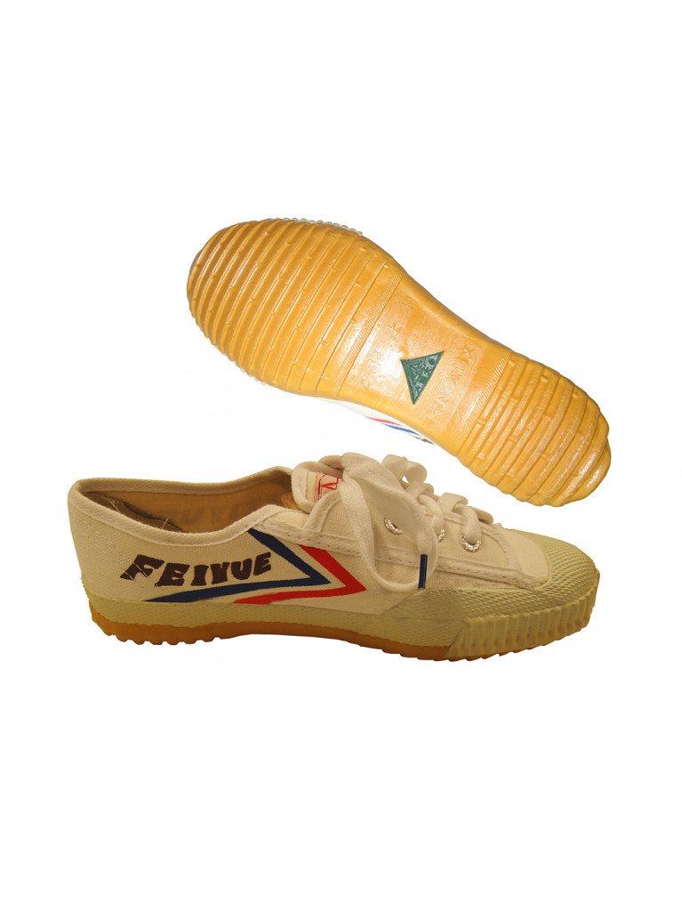 Wu-Shu Shoes Canvas FEIYUE White