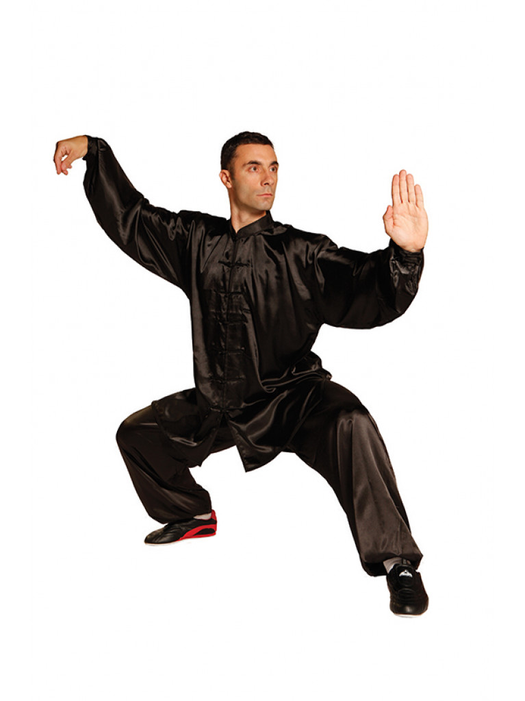 Wu-Shu Uniform Tai Chi Style Long Sleeves