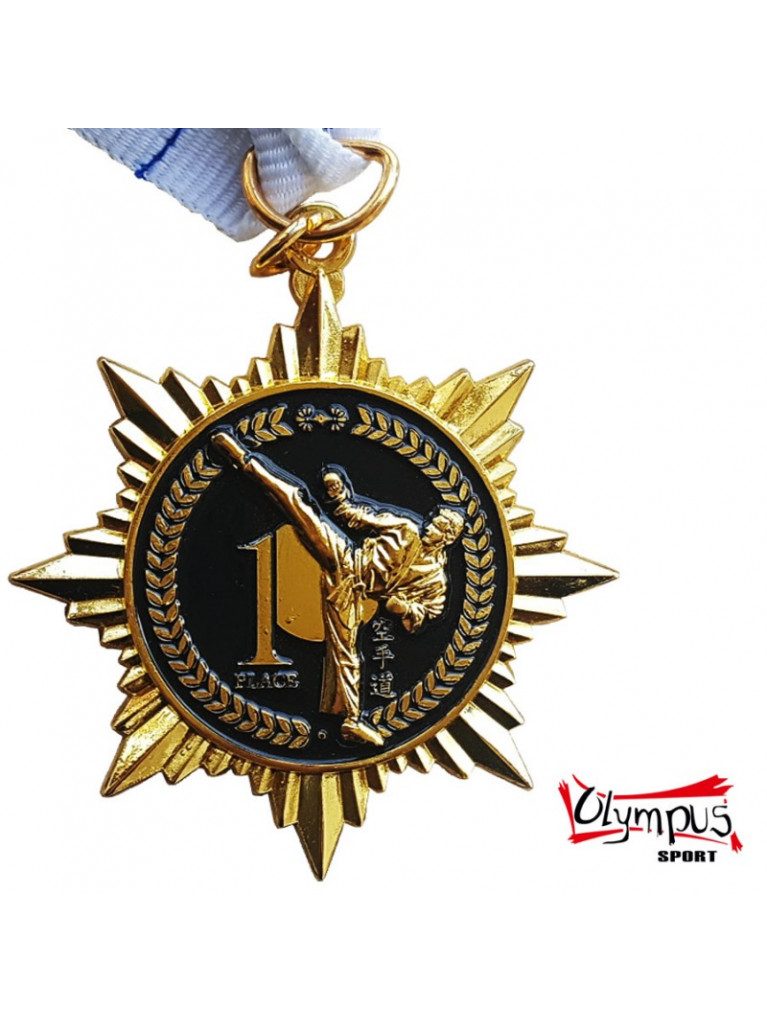 850446-medal-star-shaped-karate-gold