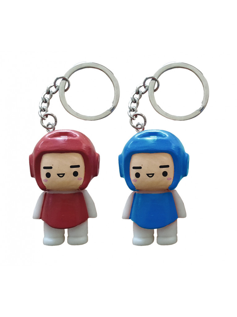 Keyring Mini-Figure Taekwondo KIDDY