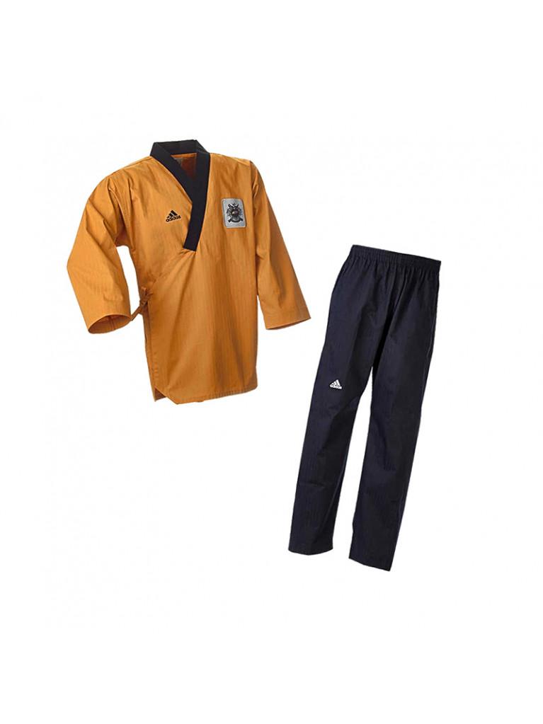 Dobok Adidas POOMSAE Premium Dark Yellow/Black – ADITPGM01
