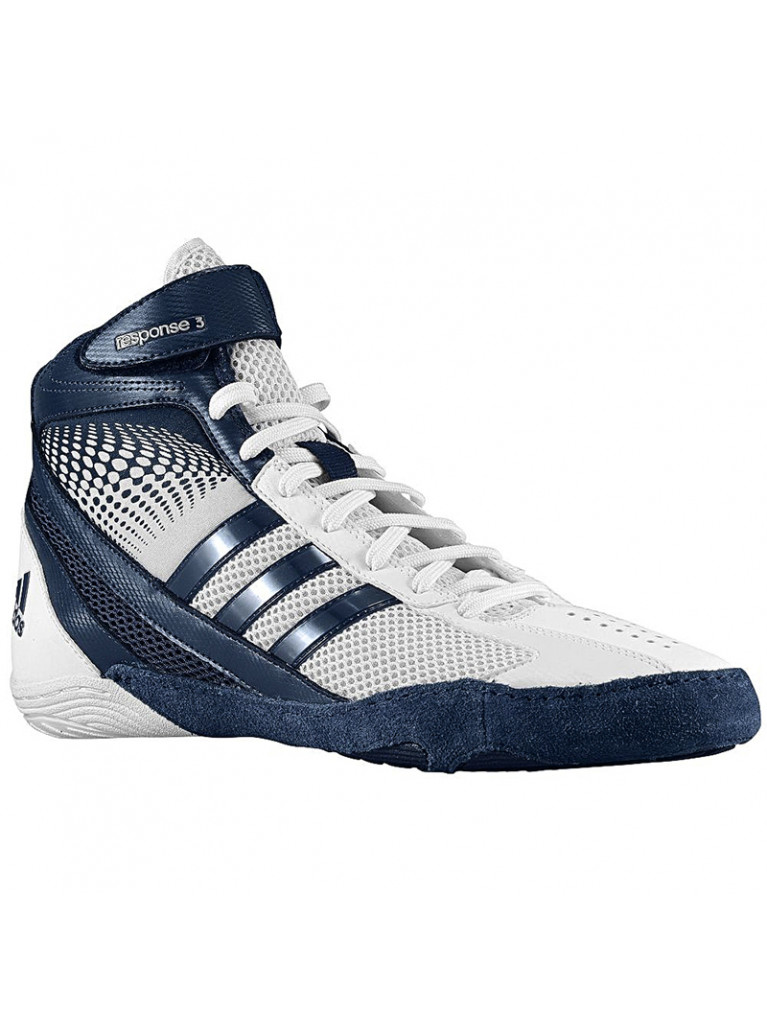 Wrestling Shoes Adidas RESPONSE 3.1 White/Navy Blue – M18785