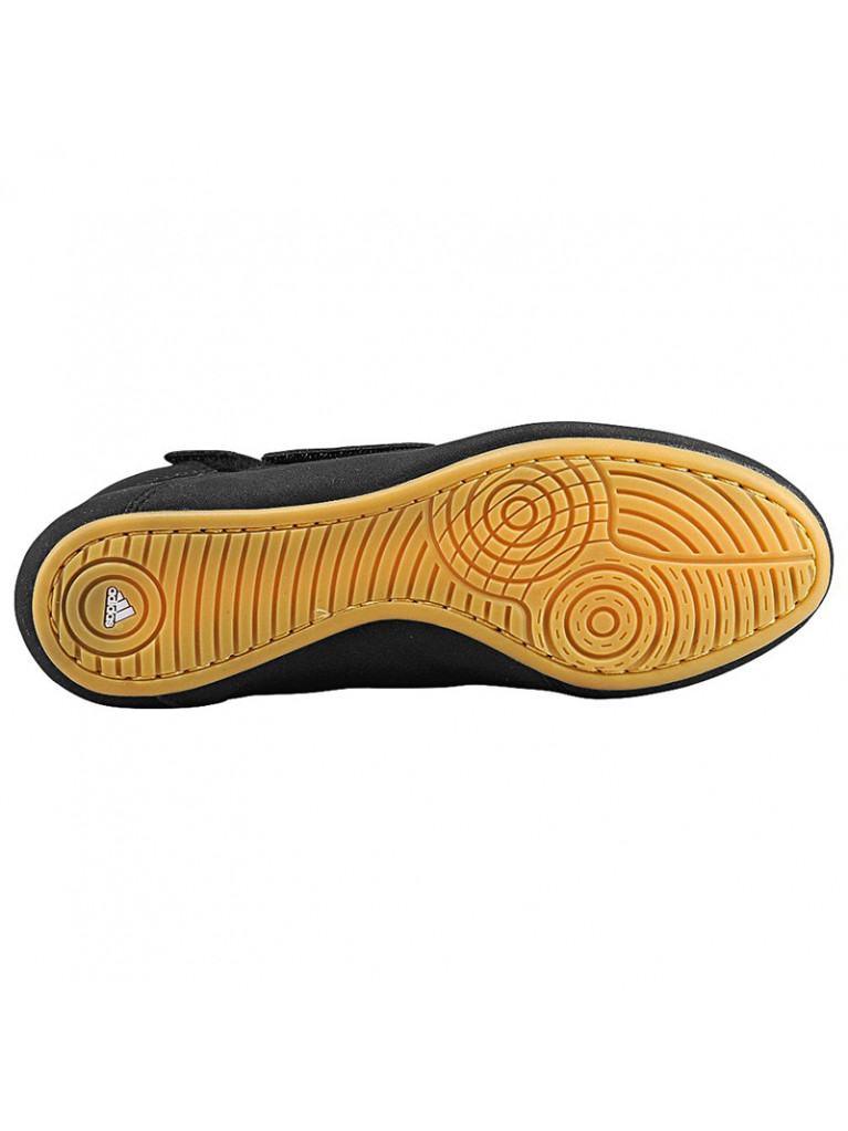 Wrestling Shoes Adidas HAVOC KIDS Velcro Black/Gum – Q33838