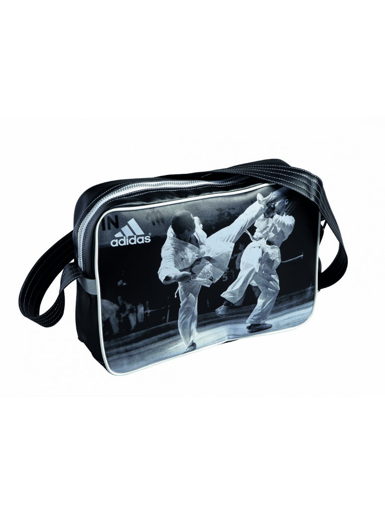 Sport Bag Adidas - Shoulder Bag Mat PU Karate Image (adiACC111CS-K)