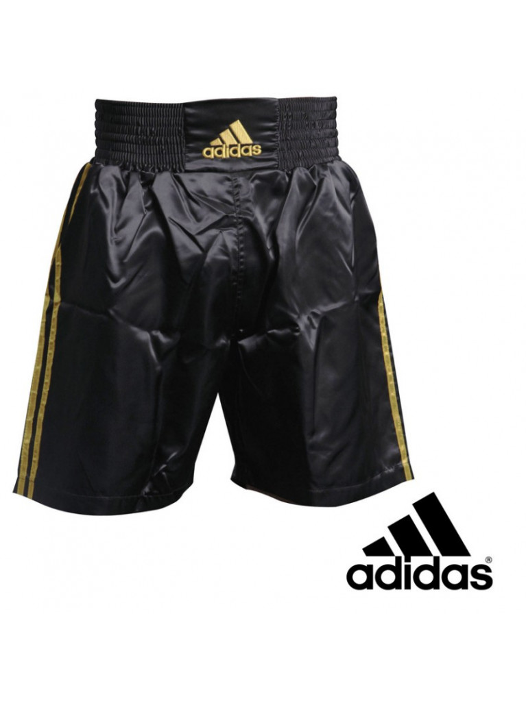 Boxing Trunk Adidas MULTI Black/Gold - ADISMB01