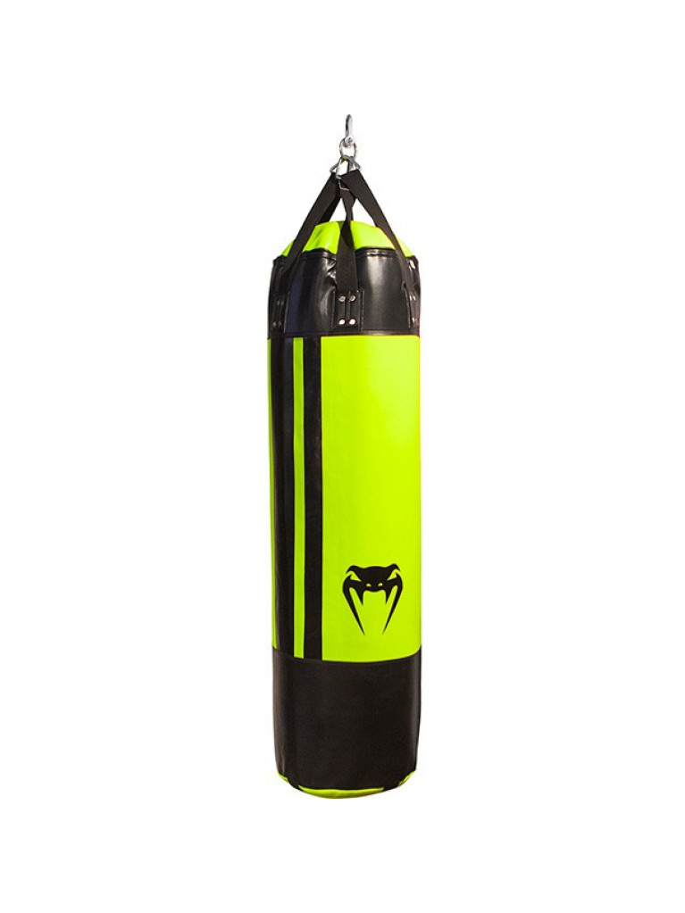 ΣΑΚΟΣ ΜΠΟΞ VENUM HURRICANE PUNCHING BAG BLACK/NEO YELLOW - 130cm