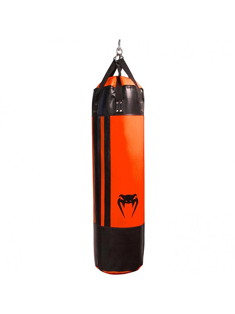 PUNCHING BAG VENUM HURRICANE ΣΑΚΟΣ ΜΠΟΞ BLACK/NEO ORANGE - 170cm