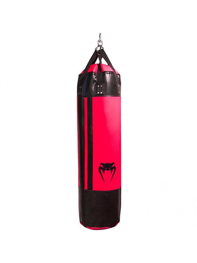 ΠΥΓΜΑΧΙΚΟΣ ΣΑΚΟΣ BOX VENUM HURRICANE PUNCHING BAG BLACK/NEO PINK - 150cm