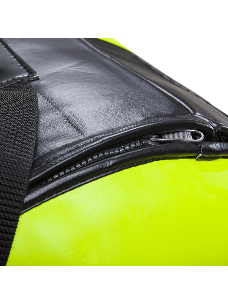BOX ΣΑΚΟΣ ΠΥΓΜΑΧΙΑΣ VENUM HURRICANE PUNCHING BAG BLACK/NEO YELLOW - 150cm