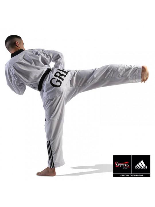 320d4c73293 ... Taekwondo Uniform adidas - FIGHTER /// Stripes ADITF02